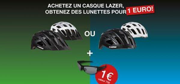 Lunettes LAZER pour 1€ de plus